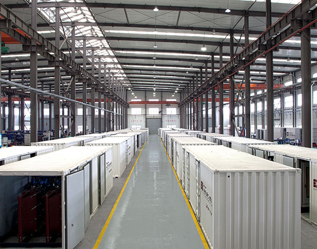 Container Mobile Heat Exchanger Station product line in Taicang base